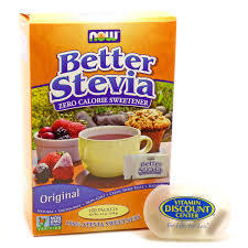 Now Gf Better Stevia 50pkts