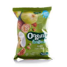 Finger Foods Apple Rice Cake 50g