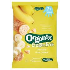 Organic Rice Cake Banana 50g