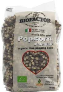 Organic Blue Popping Corn 500g