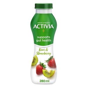 Activia YoghurtGo Drinkable Yoghurt Snack Kiwi-Strawberry 280ml