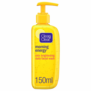 Clean & Clear Daily Face Wash Morning Energy Skin Brightening 150ml
