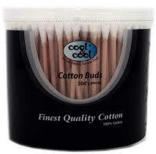 Cool And Cool Cotton Buds Assorted Colours 300pc