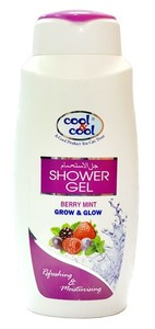 Cool And Cool Shower Gel Berry Mint 500ml