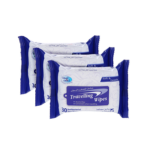 Cool & Cool Travelling Fresh Wipes 3x30s