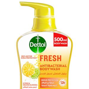 Dettol Fresh Showergel & Bodywash Citrus & Orange Blossom Fragrance 500ml