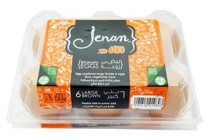 Jenan Brown Eggs Large 6s
