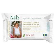 Naty Wipes Aloe Vera 56 wipes
