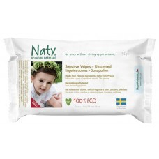 Naty Wipes Unscented 56 wipes