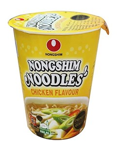Nongshim Cup Noodles Chicken Flavour 65g