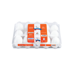 Saha Eggs White 15pc