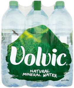 Volvic Natural Mineral Water 6x1.5L