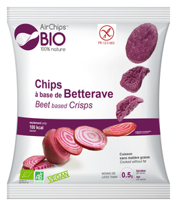Organic Beetroot Based Chips 30g
