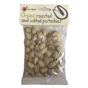 Organic Roasted And Salted Pistachios 75 G 75g