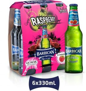 Barbican Non Alcoholic Beer Rspbry Nrb 6x330ml