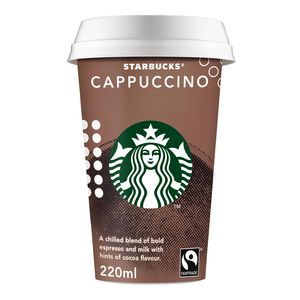 Starbucks Chilled Classics Cappuccino Coffee Drink 220ml