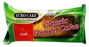 Eurocake Classic Pound Fruit Cake 125g