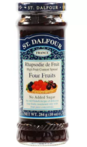 St Dalow Fatour Four Fruits Jam 284gm