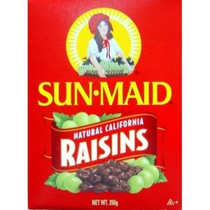 Sunmaid Raisins Box 250g