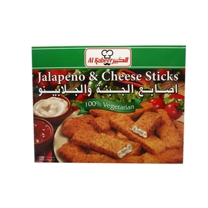Al Kabeer Jalapeno&Cheese Stck 250g