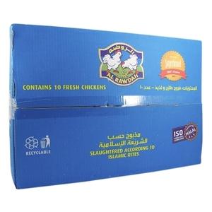 Al Rawdah Fresh Chicken  10x900g