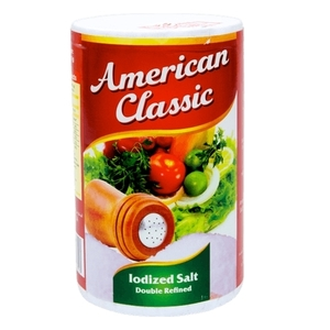 American Cl Iodized Salt  26 Oz