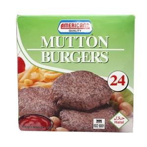 Americn Mutton Burg  24's 1344 G