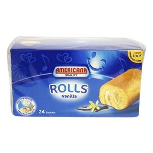 Americana Swiss Mini Roll Vanilla 24x20g