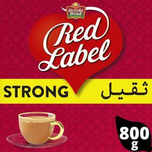 Brooke Bond Red Label Black Loose Tea 800g