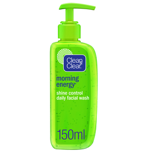 Clean & Clear Daily Face Wash Morning Energy Shine Control 150ml