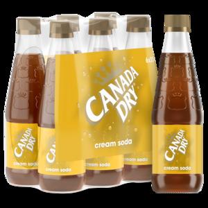 Canada Dry Cream Soda NRB 6x330ml