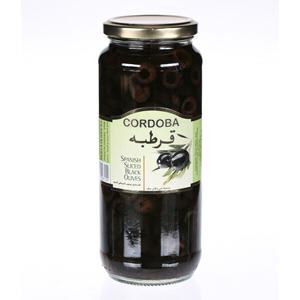 Cordoba Sliced Black Olives 275g