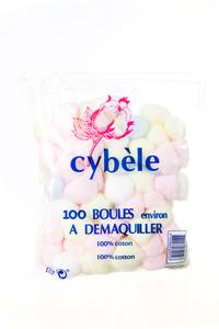 Cybele Cotton White Ball  100's