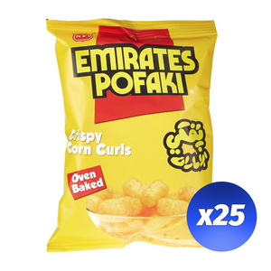 Emirates Pofaki Crisps 25x15G