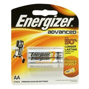 Energizer Advanced AA Batteries 2s