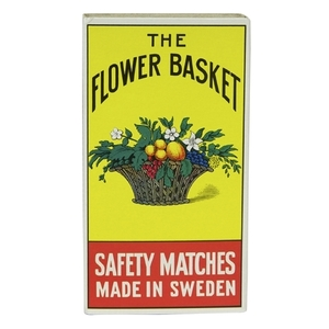 Flower Basket Match Box Big 1 box