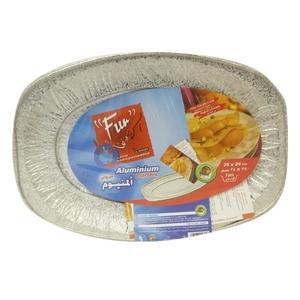Fun Small Oval Alum Platter