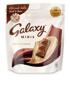 Galaxy Minis Milk Chocolate Mini Bars Pouch 250g