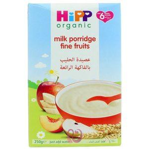 Hipp Organic Fine Fruits Apple & Banana Milk Porridge (6+ Months) 250g