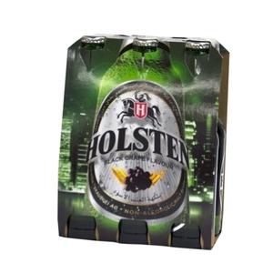 Hoslten Blackgrape Bottle 6x330ml