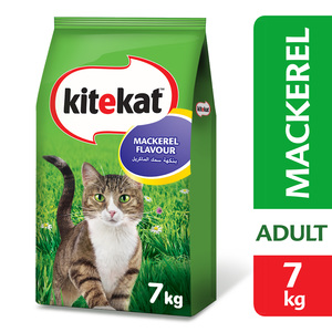 Kitekat Mackerel Flavour Dry Adult Cat Food 7kg