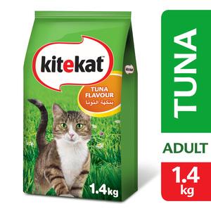 Kitekat Tuna Flavour Dry Adult Cat Food  1.4kg