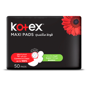 Kotex Maxi Slim Normal Wings 50s
