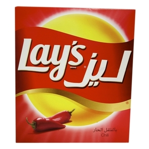 Lays Chips Chilly Multipack 14x23g