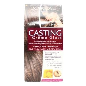 L'Oreal Paris Casting Creme Gloss 600 Light Brown Haircolor 1set