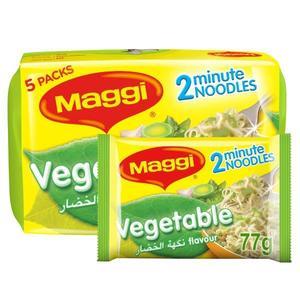 Maggi 2 Minute Noodles Vegetable 5x77g