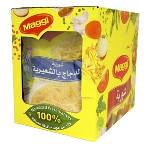 Maggi Soup Chicken Noodle  12x60 G