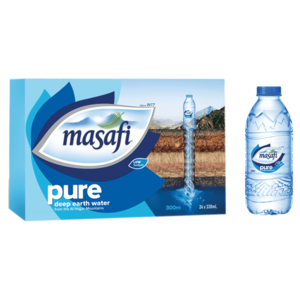 Masafi Pure Natural Water Low Sodium Carton 24x330ml