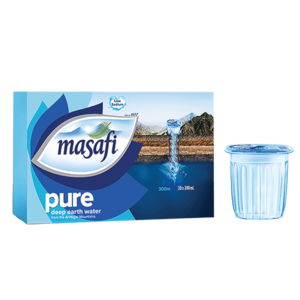 Masafi Pure Natural Water Low Sodium Cup 30x200ml