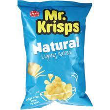 Mr.Krisps Potato Chips Natural Salt Flavour 25x15g